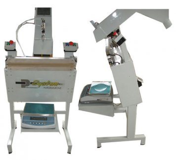 Electronic Sacking Weigher + Heat Sealer 72x68x120